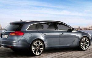 Opel Insignia lease grijs