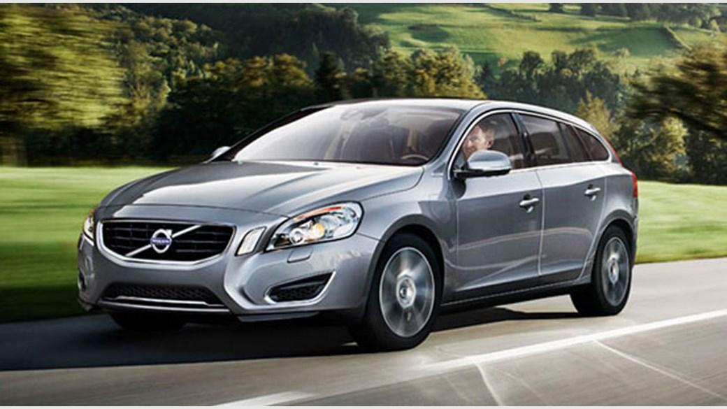 Volvo V60 osmium grey