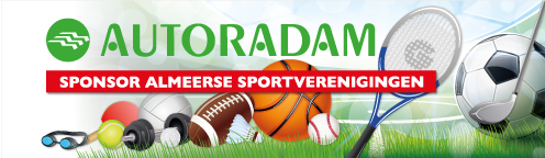 sportverenigingen almere autoradam sponsor