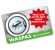 waspas wassen autoradam