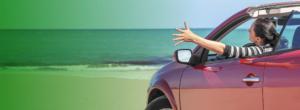 zomer auto huren autoradam cabrio