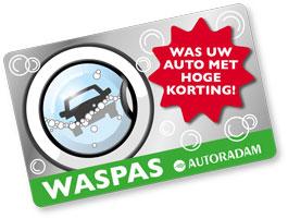 wassen waspas autoradam