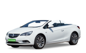 opel a5 cabrio medium wit autoradam