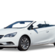 Opel cabriolet wit