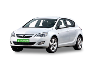 Witte Opel Astra A5
