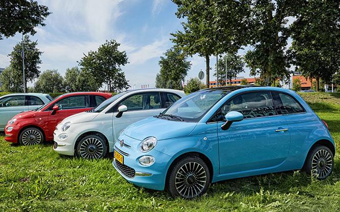 Fiat 500 kleuren
