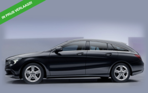 Mercedes CLA zwart