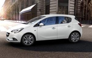 Opel Corsa wit
