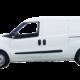Witte opel combo personenauto