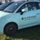 Fiat 500 lichtblauw